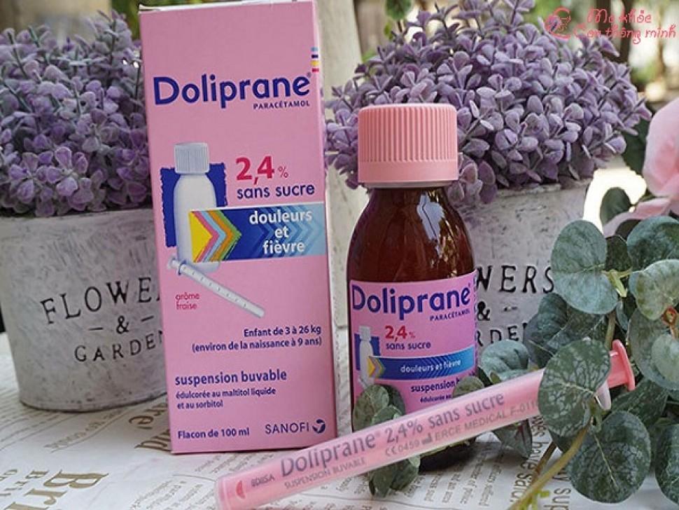 Đánh giá chi tiết thuốc hạ sốt doliprane dạng siro có tốt không?