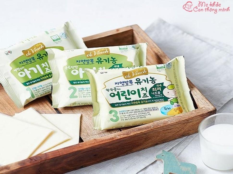 Những điều mẹ nên biết về phô mai tách muối Hàn Quốc