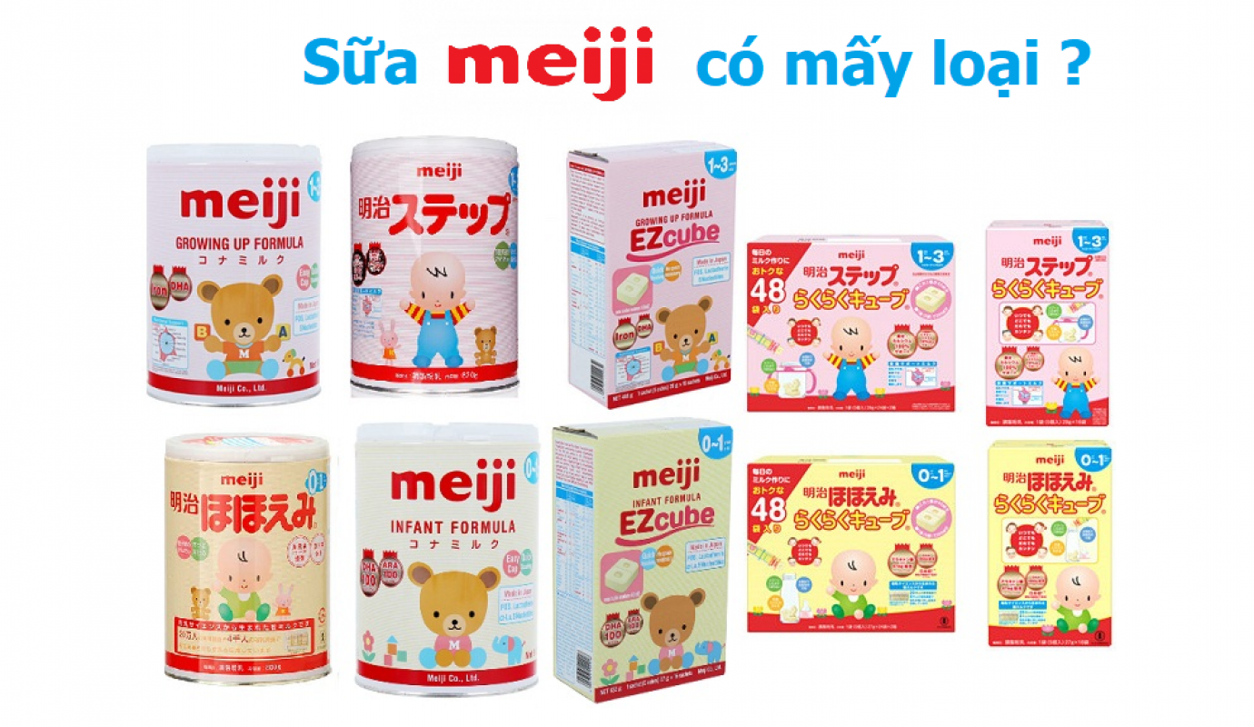 Sữa Meiji Có Mấy Loại? Đặc Điểm Chi Tiết Mỗi Loại