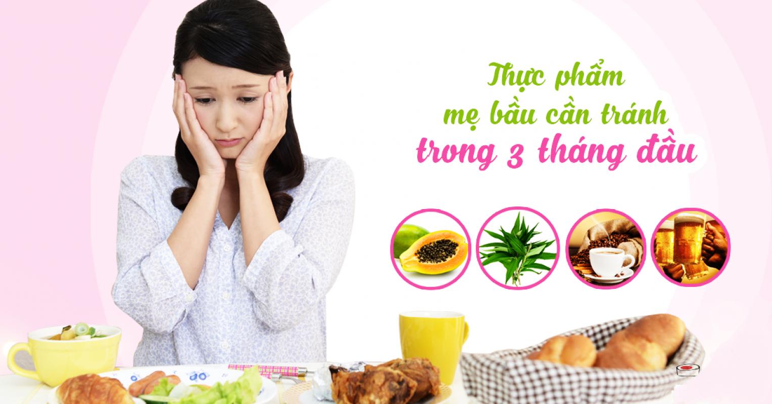 Bà Bầu Không Nên Ăn Gì Trong 3 Tháng Đầu Để Giúp Thai Nhi Phòng Tránh Dị Tật Bẩm Sinh?