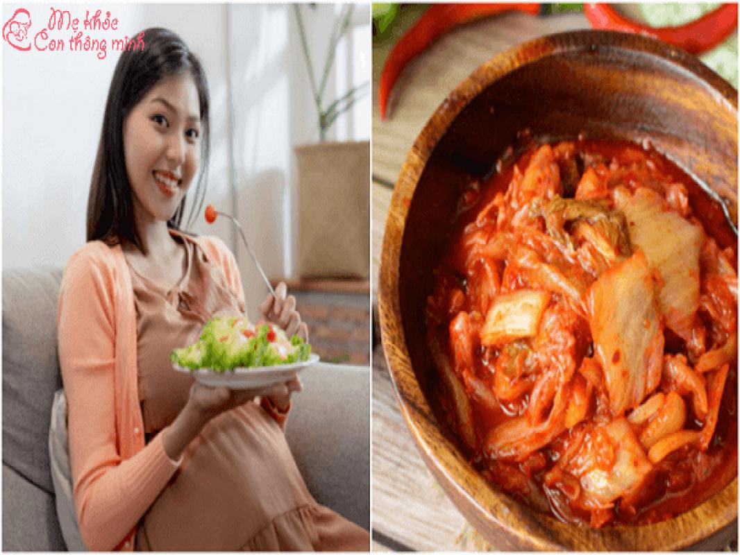 Nếu Thèm Ăn Kim Chi Lắm Thì Bà Bầu Có Ăn Được Không?