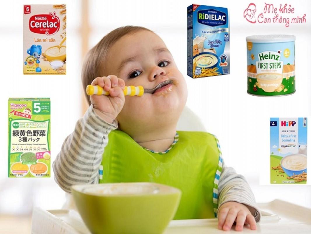 Bí Quyết Chọn Bột Ăn Dặm Tốt Nhất Cho Bé 5 Tháng Tuổi