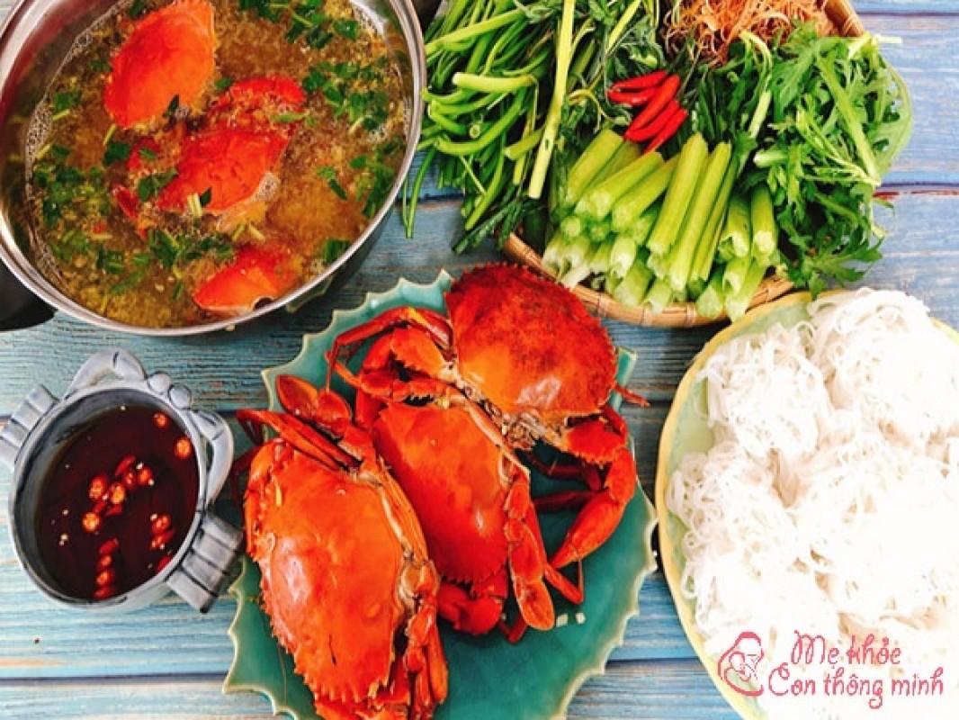 """2 Cách Nấu Lẩu Cua Đồng, Lẩu Cua Biển """"ngon Hết Sảy"""""""