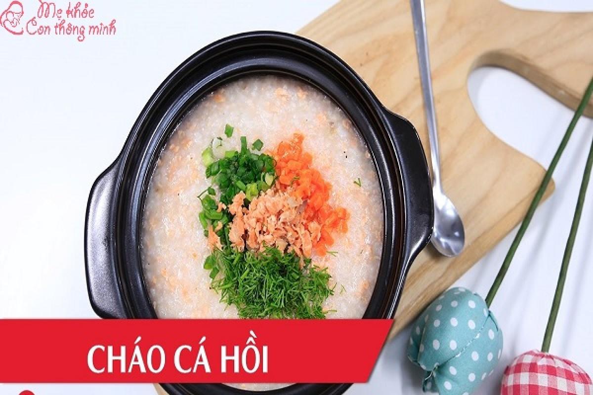 Bật Mí 5 Cách Nấu Cháo Cá Hồi Tuyệt Ngon Cho Bé Ăn Dặm