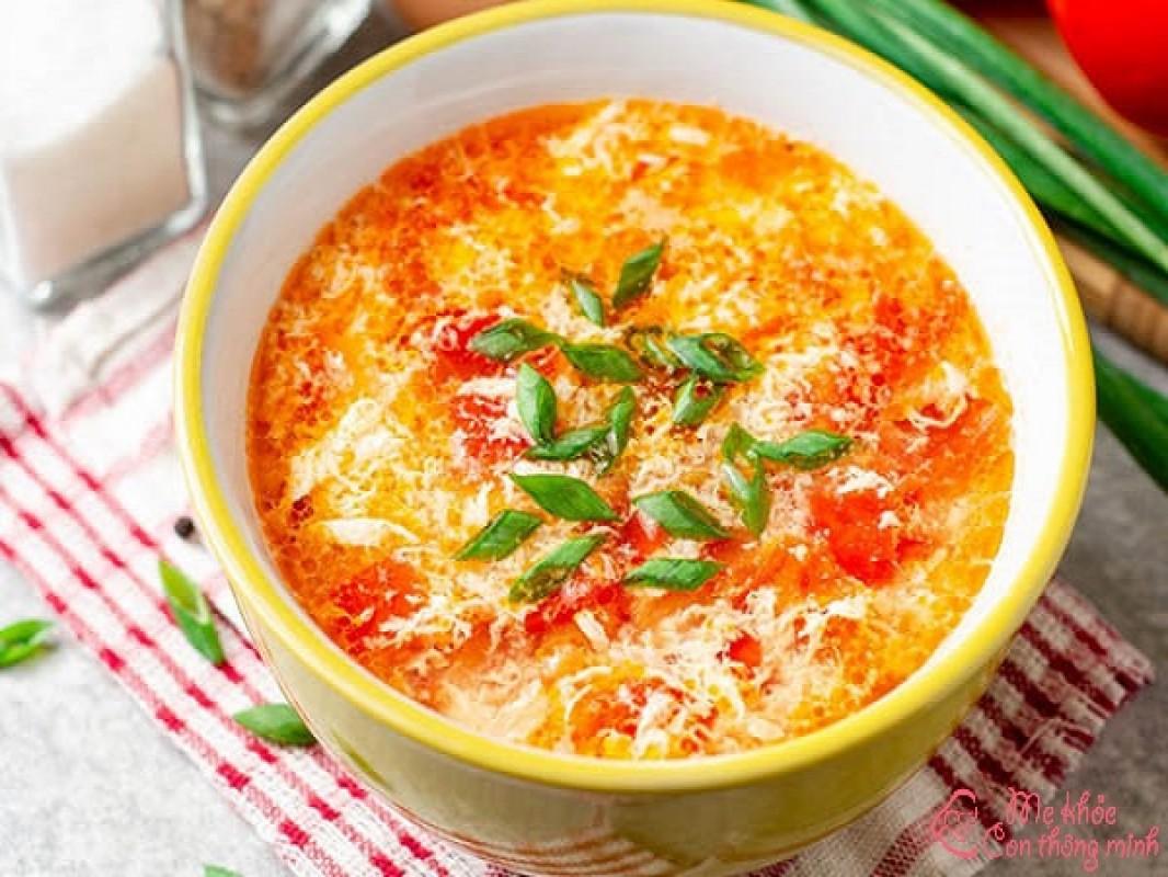 Chia Sẻ 2 Cách Nấu Canh Trứng Cà Chua Ngon, Không Tanh