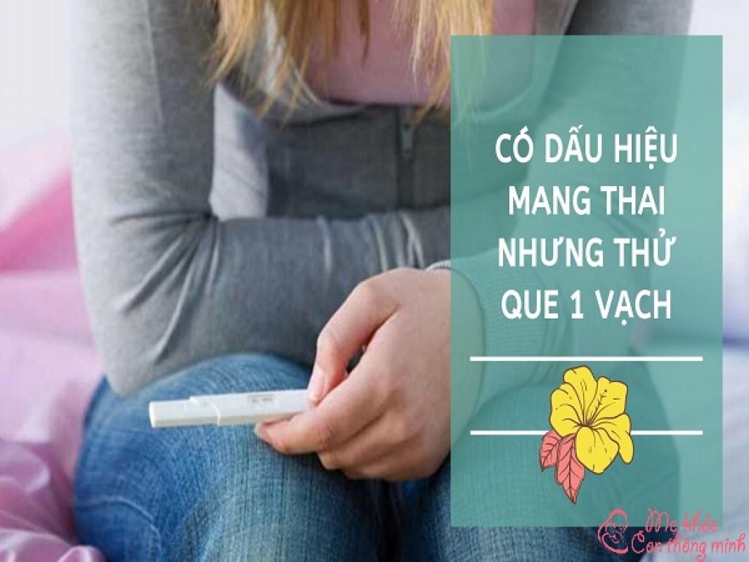 Giải Mã Lý Do Vì Sao Có Dấu Hiệu Có Thai Nhưng Thử Que 1 Vạch