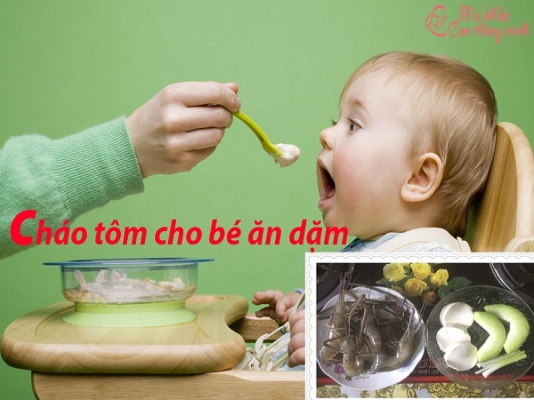 Mách Mẹ 6 Công Thức Nấu Cháo Tôm Ngon Nhất Cho Bé Ăn Dặm