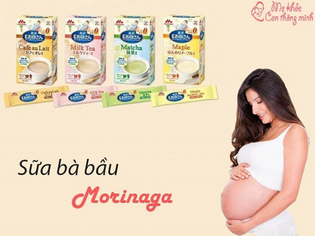 Sữa Bầu Morinaga Có Tốt Không? Nên Dùng Mấy Gói/ngày?