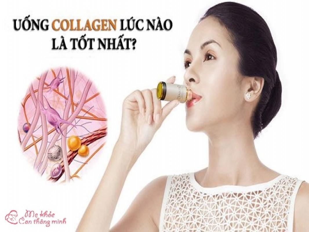Uống Collagen Lúc Nào Tốt Nhất? Bao Nhiêu Tuổi Nên Uống Collagen?