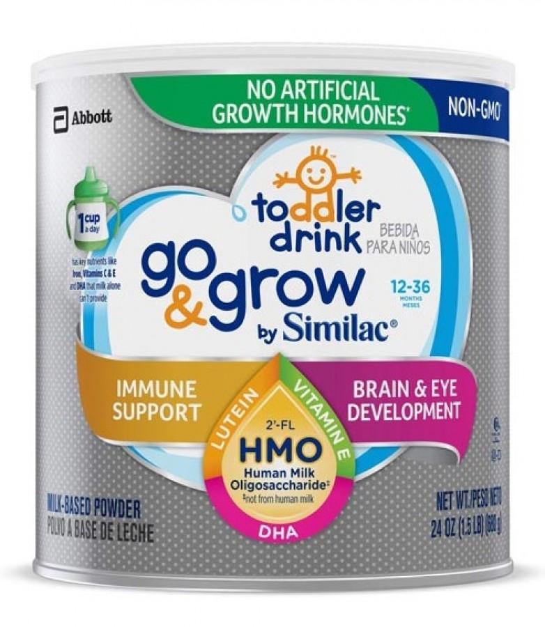 Sữa Similac Go & Grow HMO Cho Trẻ 1 Đến 3 Tuổi