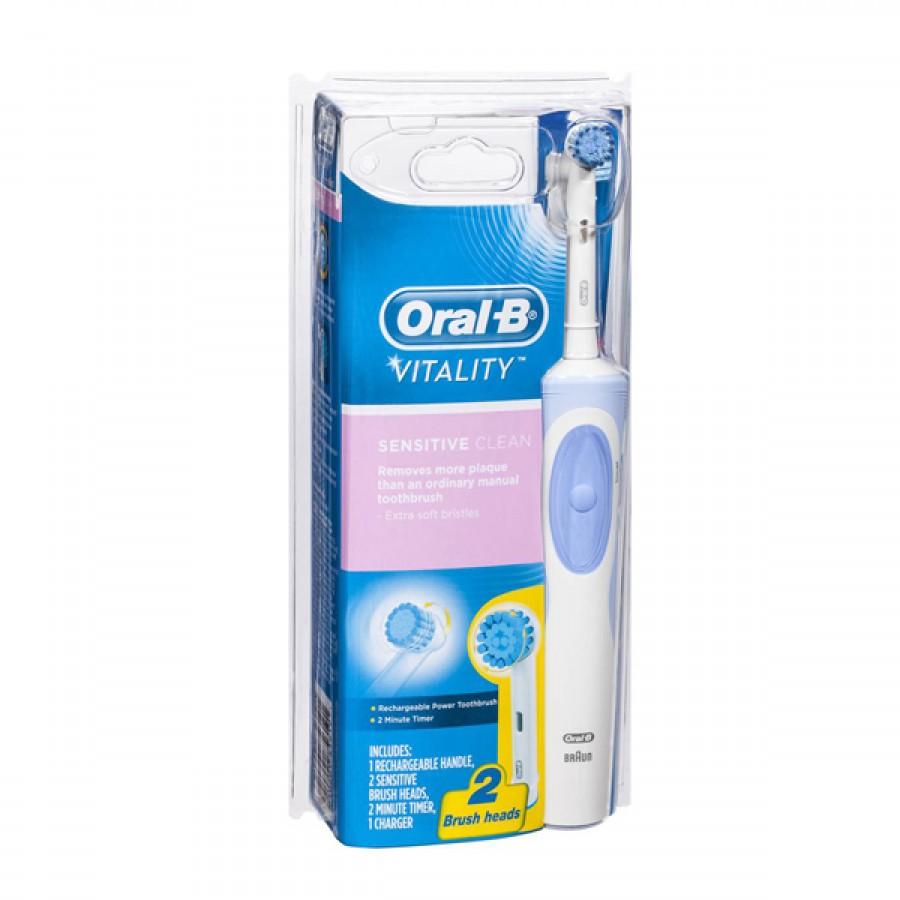 Bàn Chải Đánh Răng Điện Oral - B Vitality Braun Tốt Cho Sức Khỏe Răng Miệng