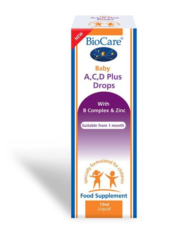 BioCare Baby A,C,D Plus Drops Dạng Giọt
