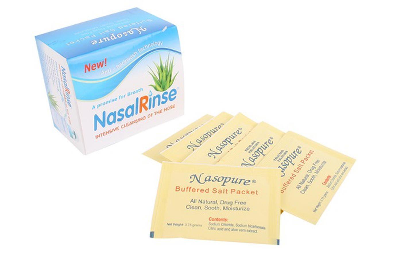 Hỗn Hợp Muối Rửa Mũi Nasal Rinse Không Gây Khô Mũi