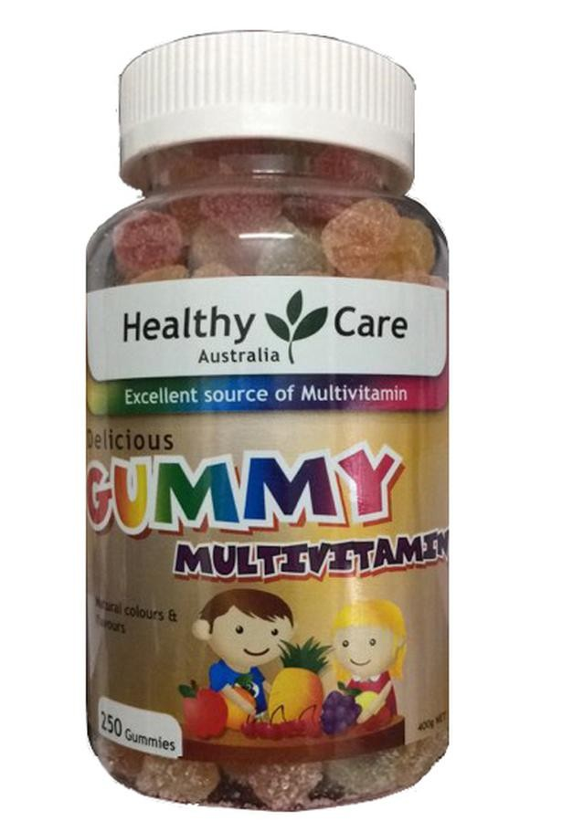 Kẹo Dẻo Healthy Care Gummy Cho Bé Biếng Ăn Hàng Úc Chính Hãng