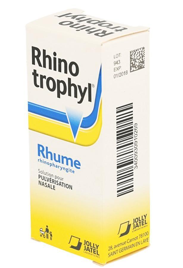 Nước Nhỏ Mũi Kháng Viêm Cho Trẻ Sơ Sinh Rhinotrophyl