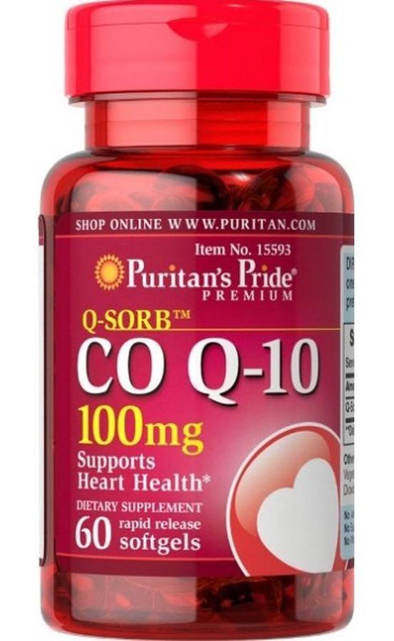 Puritan's Pride Coq10 100mg  Của Mỹ