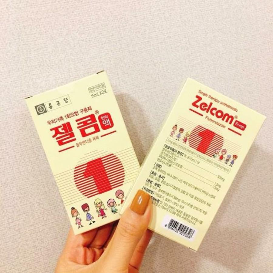 Siro Tẩy Giun Zelcom Hàn Quốc Cho Trẻ Từ 2 Tuổi