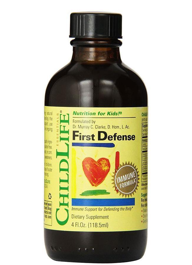 Siro Vitamin Childlife First Defense Cho Bé Từ 6 Tháng Trở Lên