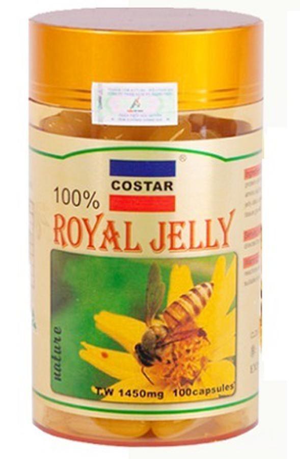 Sữa Ong Chúa Costar 1450mg 100 Viên Chính Hãng Úc