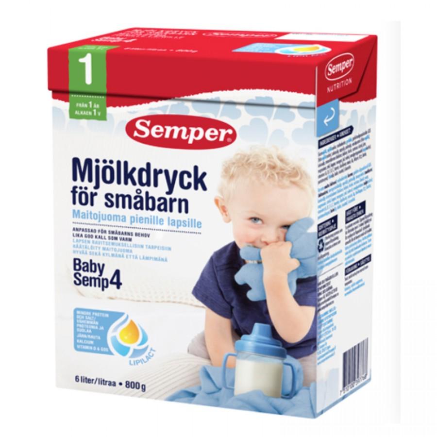 Sữa Semper Số 4 Thụy Điển Cho Trẻ Trên 12 Tháng