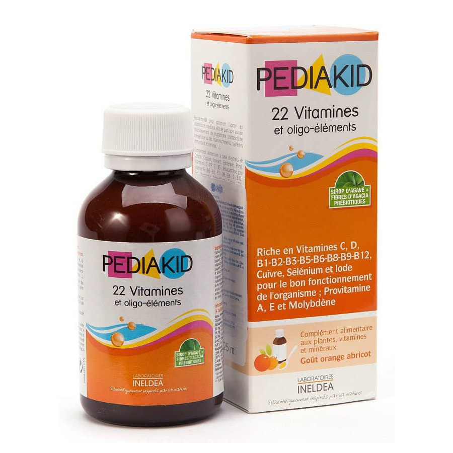 Vitamines Pediakid 22 Cho Trẻ Từ 6 Tháng Tuổi