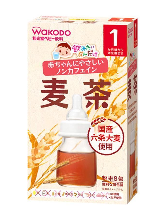 Wakodo - Trà Lúa Mạch Cho Bé Từ 1 Tháng Tuổi