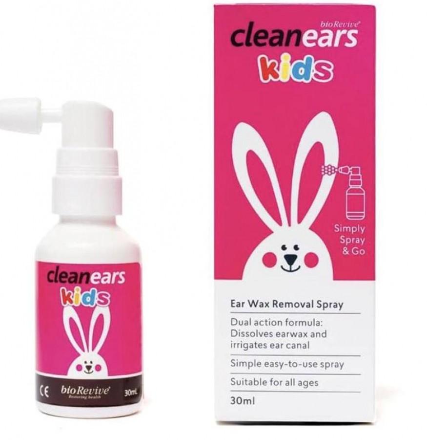 Xịt Clean Ears Kid Hỗ Trợ Làm Tan Ráy Tai Cho Bé
