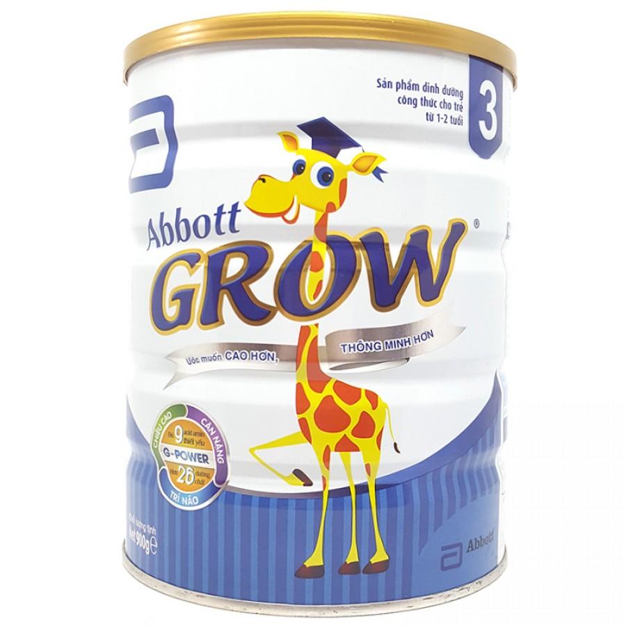 Sữa Abbott Grow Số 3 Cho Bé Từ 1 Đến 2 Tuổi