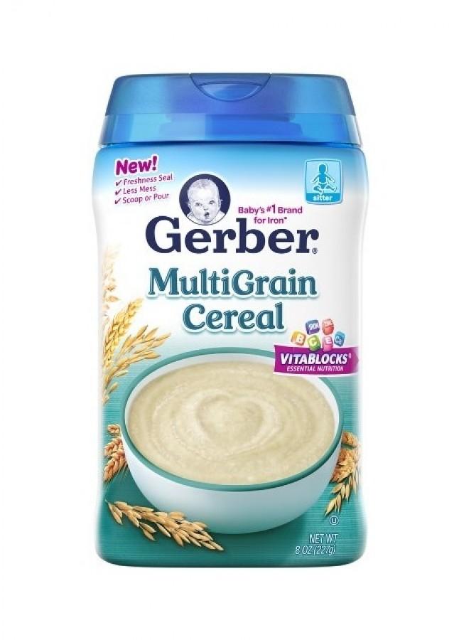 Bột Ăn Dặm Gerber Cho Bé Từ 4 Tháng Tuổi