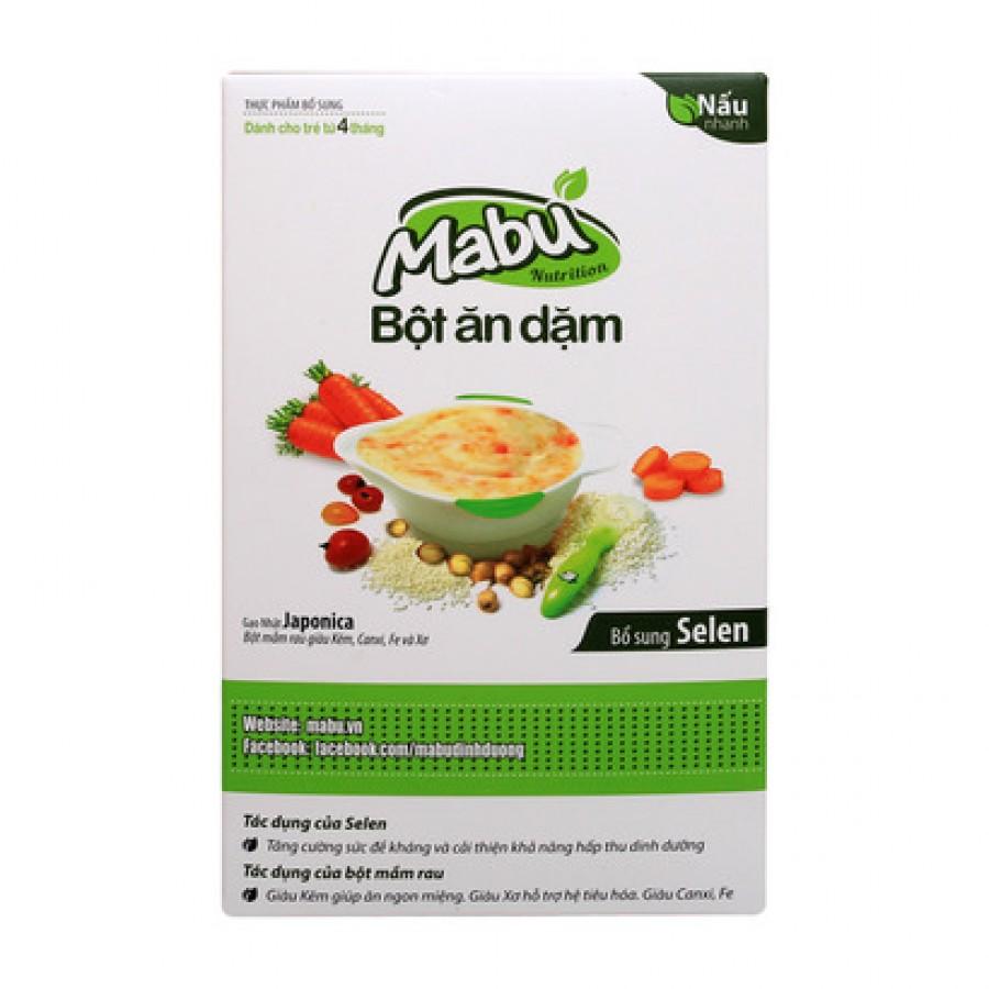 Bột Ăn Dặm Mabu Cho Bé Từ 4 Tháng Tuổi