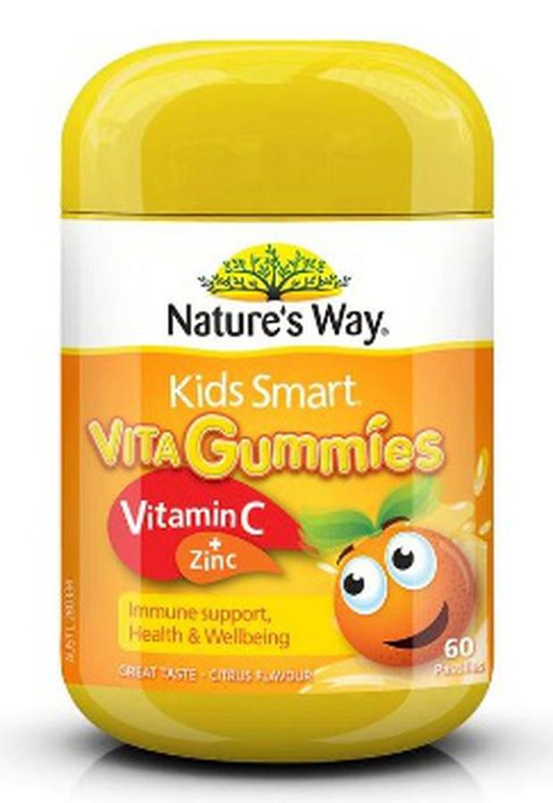 Kẹo Dẻo Vita Gummies Kids Smart Vitamin C + ZinC
