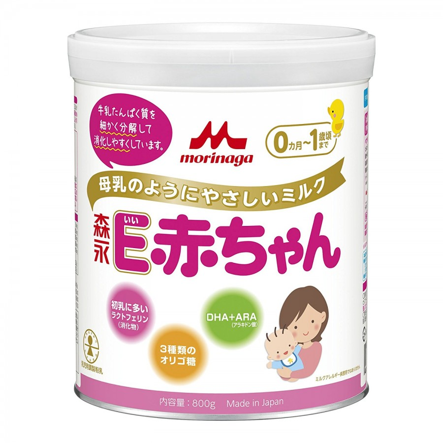 Sữa Cho Trẻ Non Tháng Morinaga E- Akachan Số 0