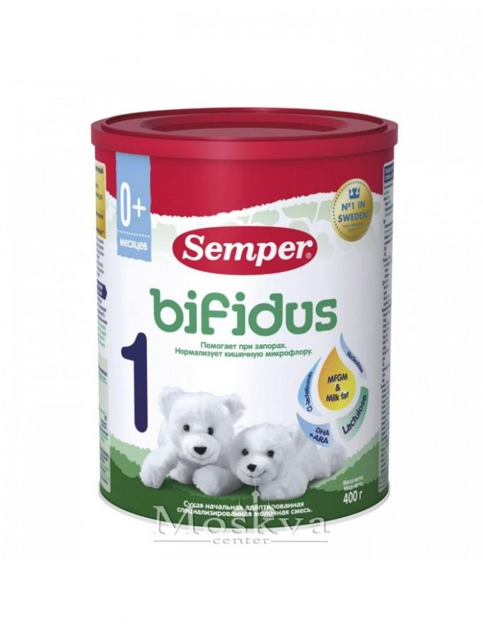 Sữa Semper Bifidus 1 Ngừa  Táo Bón Cho Bé Từ 0 - 6 Tháng Tuổi