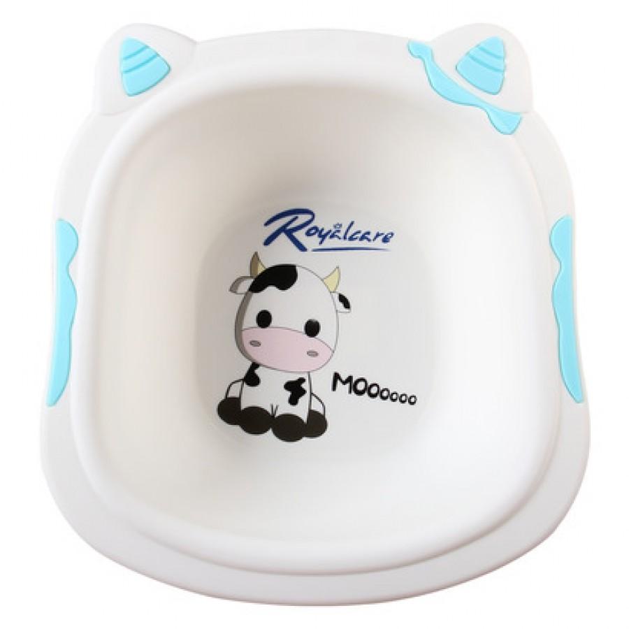 Chậu Rửa Mặt Trẻ Em Royalcare Hình Bò Sữa Cho Bé
