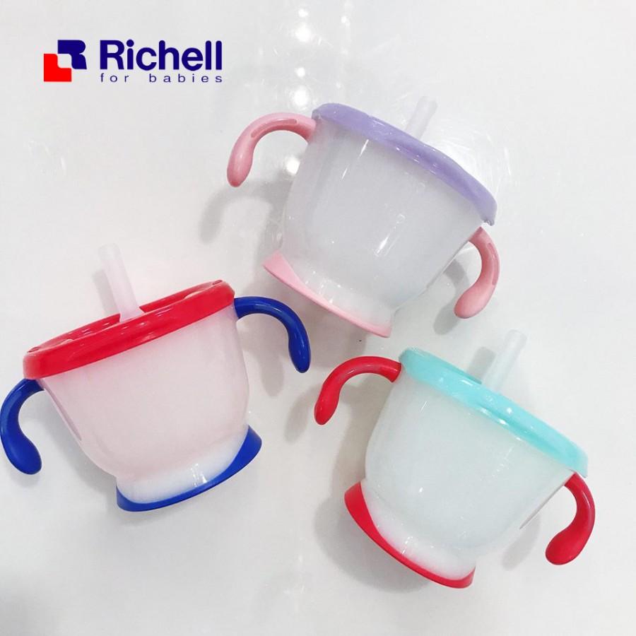 Cốc Tập Uống Richell 3 Giai Đoạn Cho Bé
