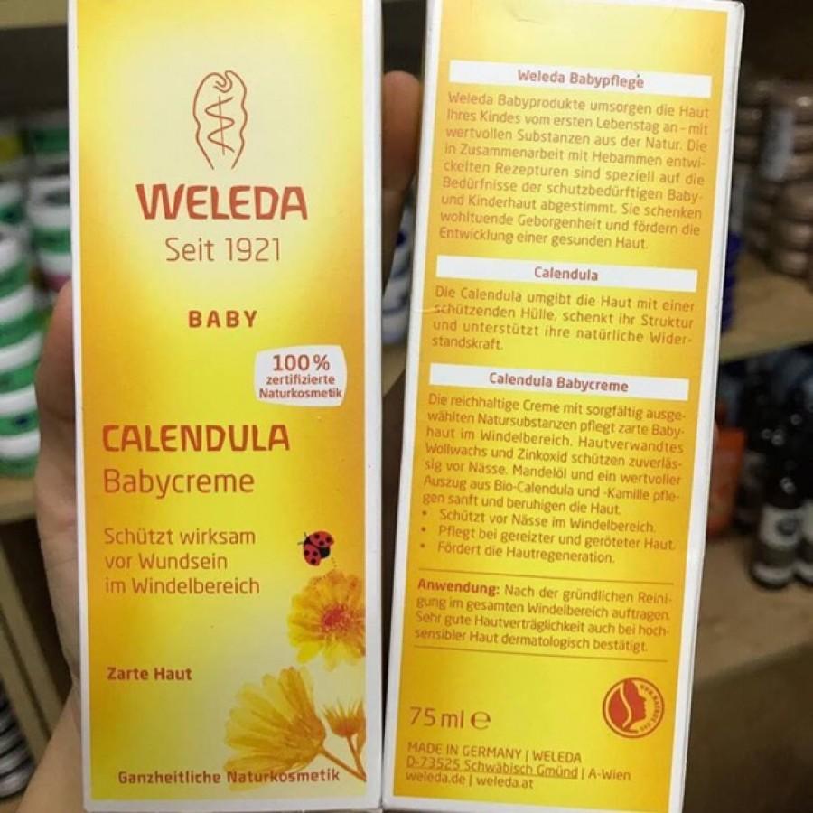 Kem Hăm Weleda Calendula Babycreme Đức