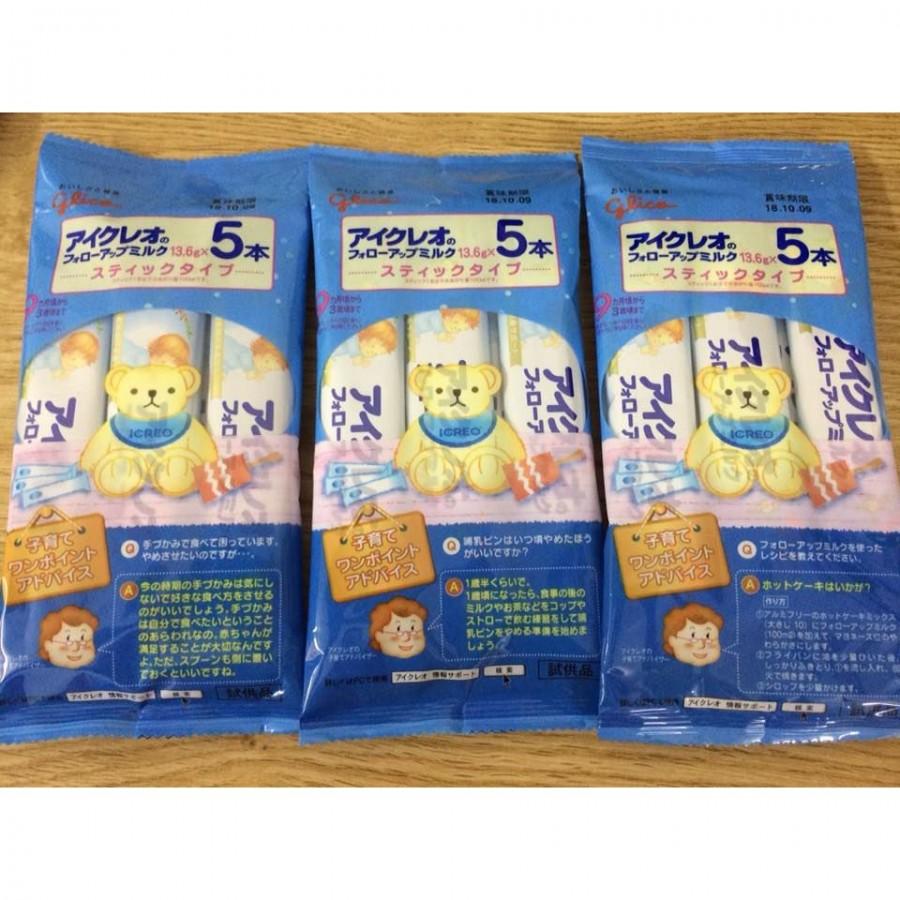Sữa Glico Nội Địa Nhật Dạng Gói 5 Thanh (9-36 Tháng)