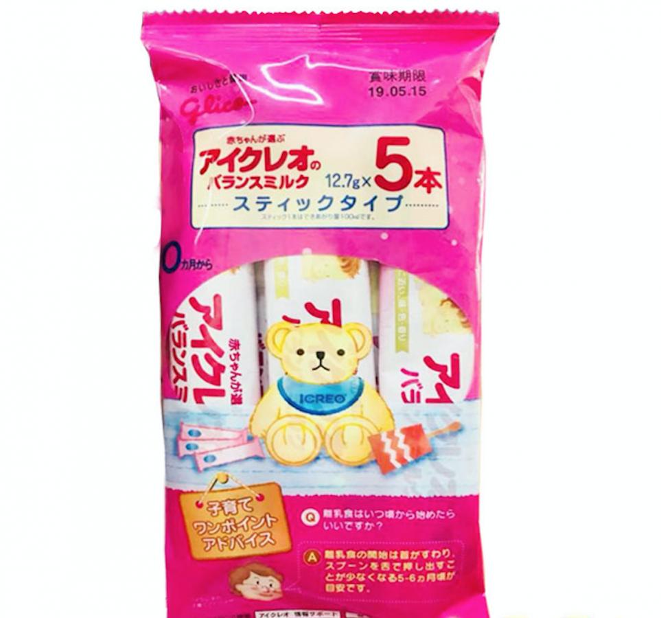 Sữa Glico Số 0 Dạng Gói 5 Thanh (0-12 Tháng) Nhật Bản