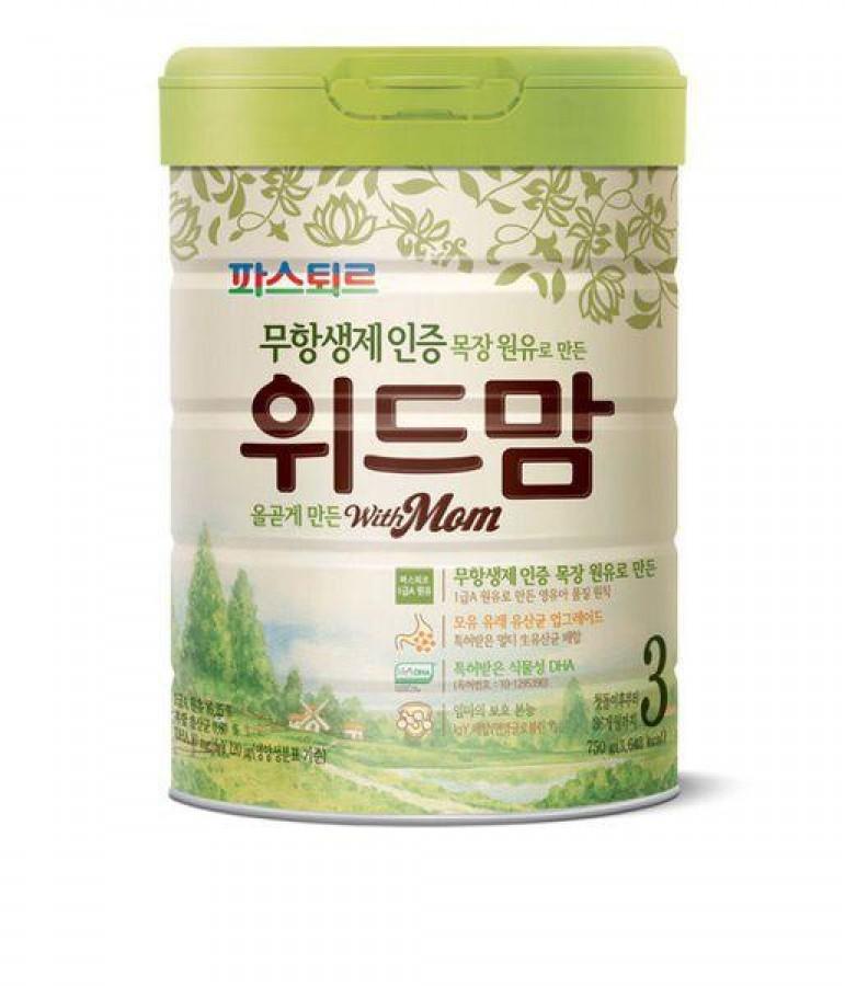 Sữa With Mom Cho Bé Hàn Quốc (750g)