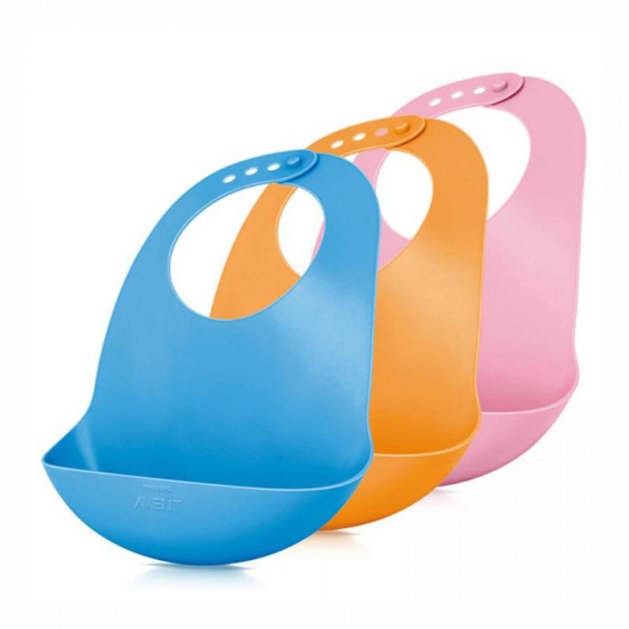Yếm Ăn Dặm Philips Avent Nhựa Dẻo