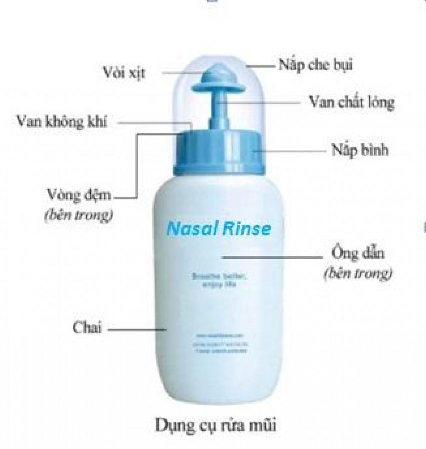 Bình Rửa Mũi Nasal Rinse Cho Bé