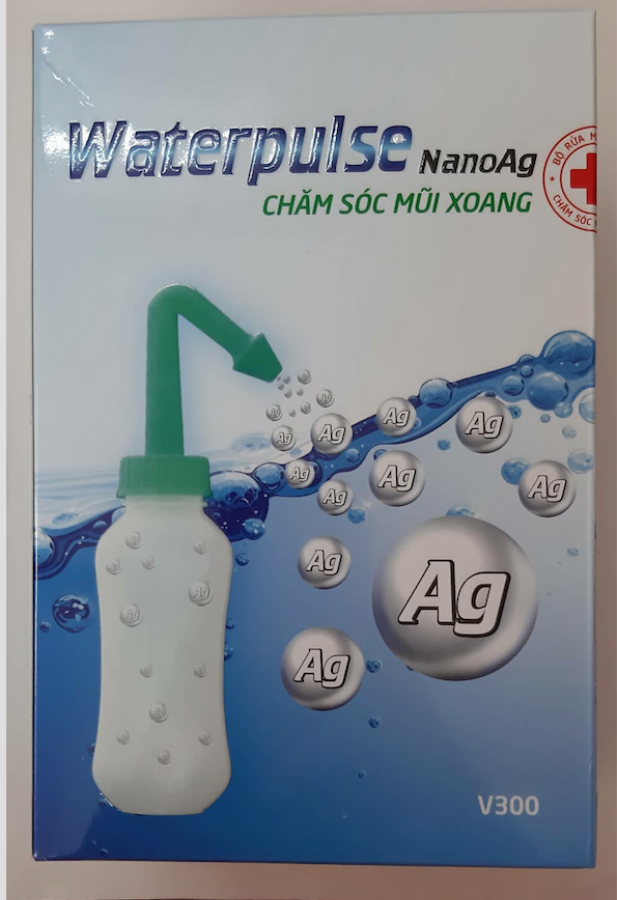 Bình Rửa Mũi Waterpulse Cho Bé