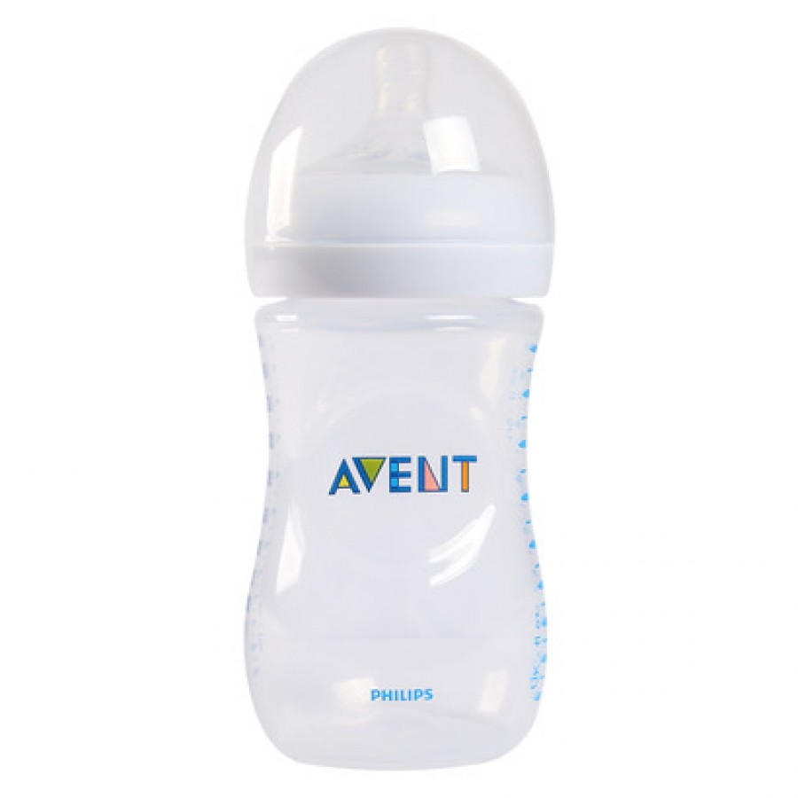 Bình Sữa Philip Avent Natural Cổ Rộng