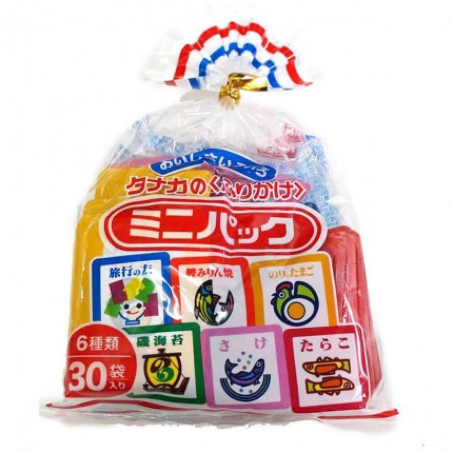 Gia Vị Rắc Cơm Furikake 6 Vị 30 Gói Cho Bé