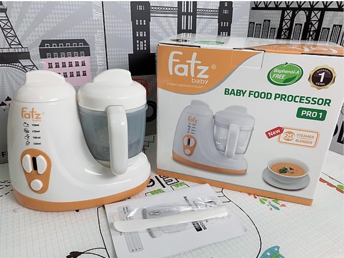 Máy Chế Biến Thức Ăn Dặm Pro 1 Fatzbaby FB9615SL Cho Bé