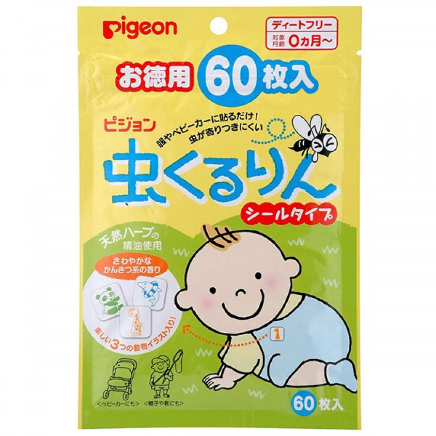 Miếng Dán Đuổi Muỗi Pigeon (Nhật Bản)