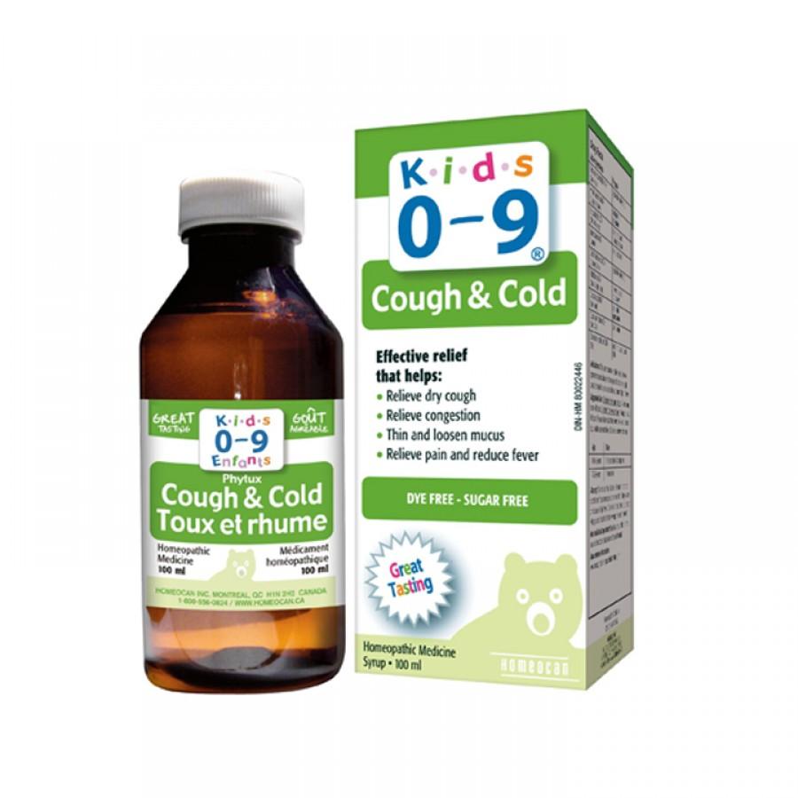 Siro Cảm Cúm Cough & Cold Syrup For Kids 100ml Cho Bé Từ 0 Đến 9 Tuổi