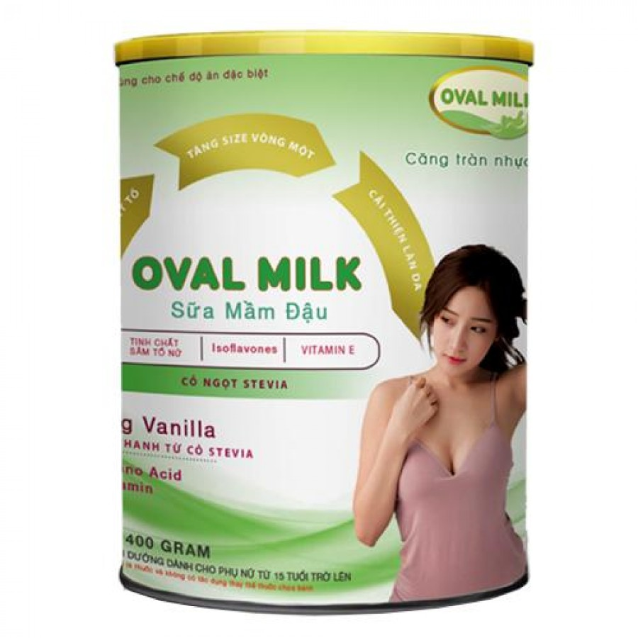 Sữa Oval Milk Tăng Kích Thước Vòng 1 Cho Mẹ