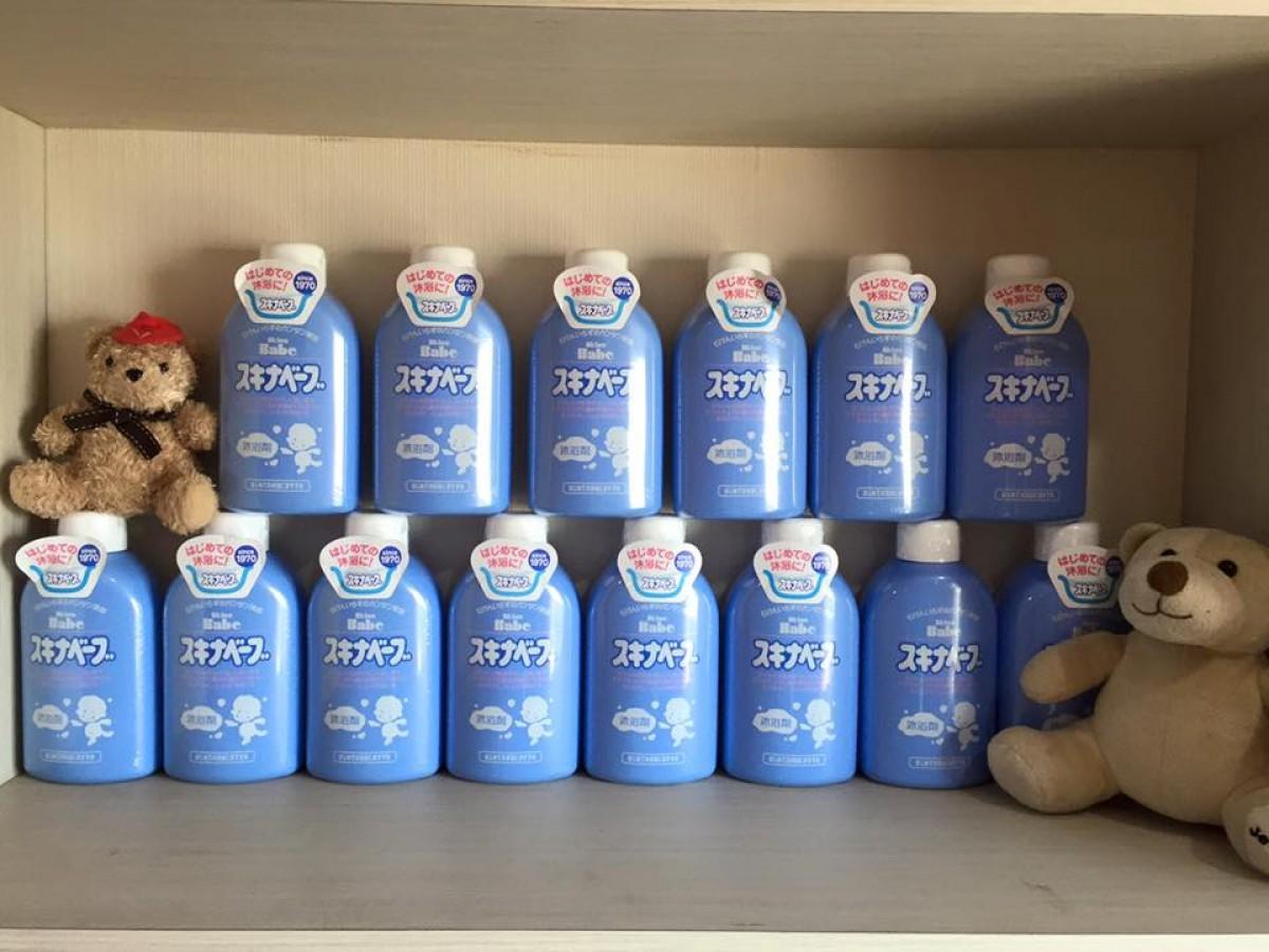 Sữa Tắm Hỗ Trợ Ngăn Ngừa Rôm Sẩy Skina Babe 500ml Cho Bé