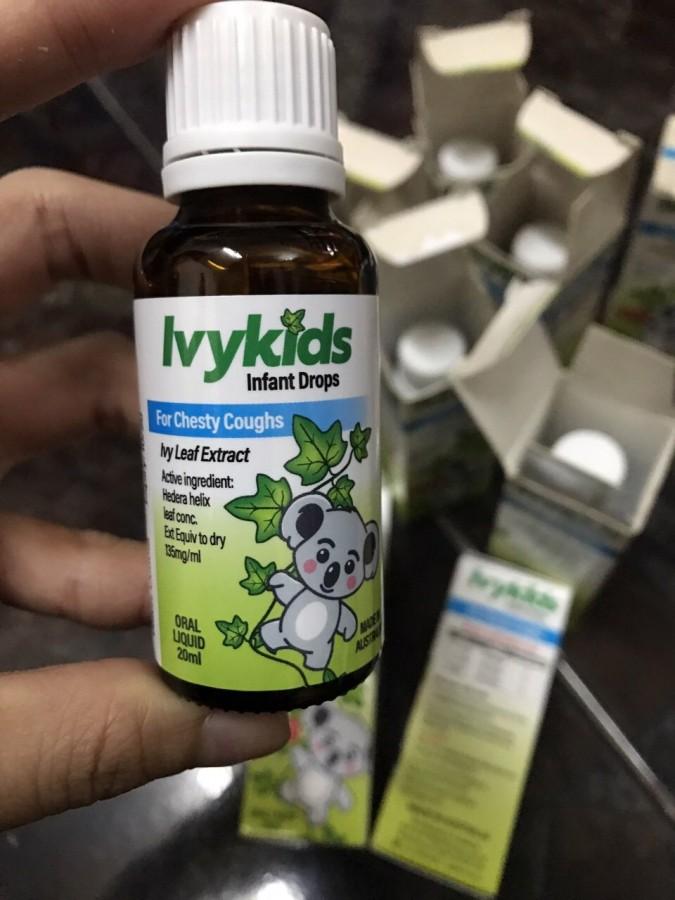 Tinh Chất Ho Ivy Kids Cho Trẻ (Úc)